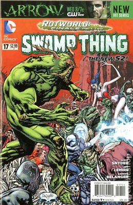 Swamp Thing (5th Series) #17 2013 VF Stock Image
