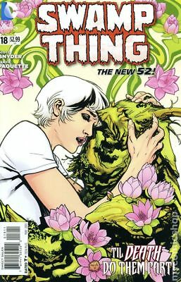 Swamp Thing (5th Series) #18 2013 NM Stock Image