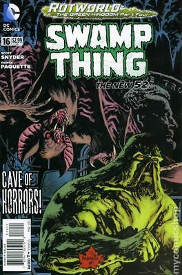 Swamp Thing (5th Series) #16 2013 VF Stock Image