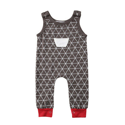 AU Newborn Baby Boy Girl Clothes Bodysuit Infant Romper Jumpsuit Outfit Sunsuit
