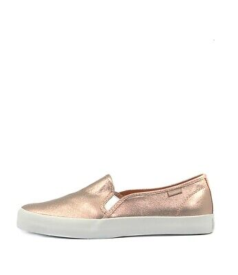 New Holster Leo Rose Gold Fabric Womens Shoes Casual Shoes Flat