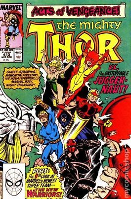 Thor (1st Series Journey Into Mystery) #412 1989 FN Stock Image