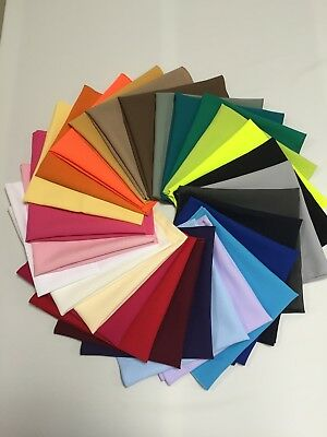 "Polyester Fabric Linen Napkins 15"", 19"" & 21"" over 30 colours"