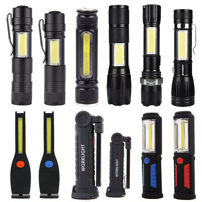 New Outdoor Super Bright COB Light Working Light Flashlight Lamp