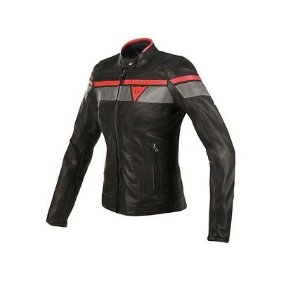 GIACCA MOTO DAINESE Pelle BLACKJACK LADY Marrone Scuro