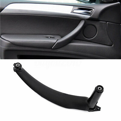 Black Left Inner Door Panel Handle Pull Trim Cover Fit BMW E70 X5 51416969401