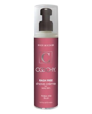 Coochy Rash-Free Shave Creme - 16oz - Make Me Blush