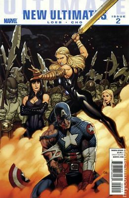 Ultimate New Ultimates (Marvel) #2A 2010 VG Stock Image Low Grade