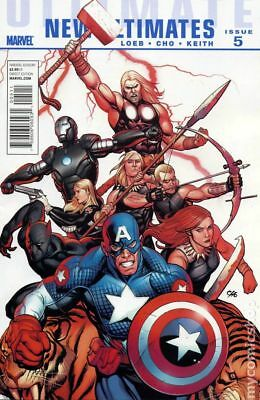 Ultimate New Ultimates (Marvel) #5 2011 FN Stock Image