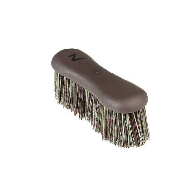 Horze Softgrip Dandy Brush, Long Bristles for Daily Horse Grooming