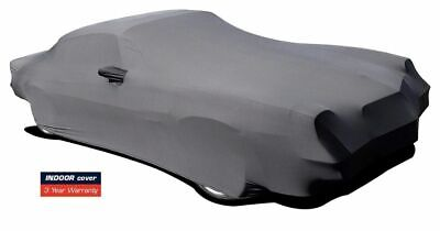 1974-1981 Chevy Camaro Indoor Satin Stretch Car Cover Black Onyx