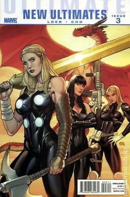 Ultimate New Ultimates (Marvel) #3 2010 FN Stock Image