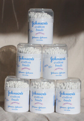 600 - Johnson's Cotton Buds - 6 x 100