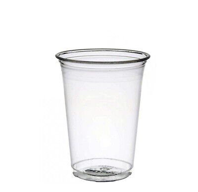 1000 Recyclable Plastic Cups (440ml/14oz)