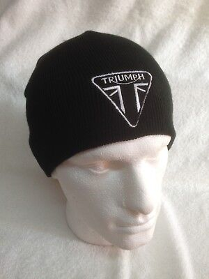 Triumph Motorcycles - Modern Tri - Woolly Hats / Beanies / Caps / Bobble Hats