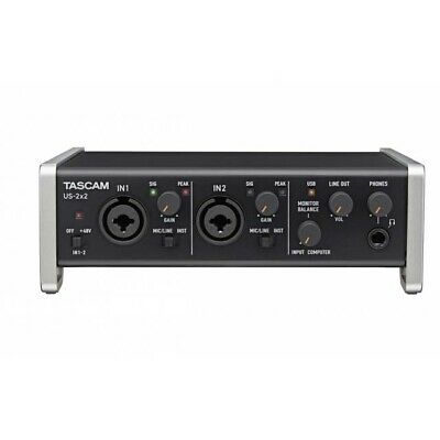 Tascam US-2x2 USB Audio Interface