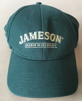 Jameson Irish Whiskey Green Baseball Hat Cap sz Small - Medium