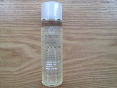 Sanctuary Spa Mum To Be Stretch Mark Oil 75ml -NEW (BB1)