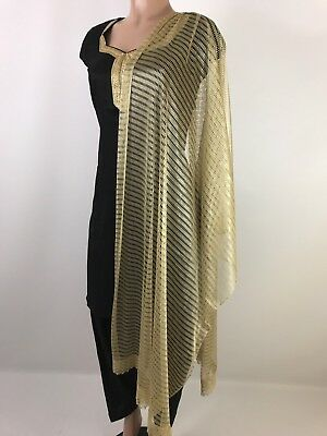 $3.99 spring Deals Indian Scarf Dupatta Match any Indian Dress or western
