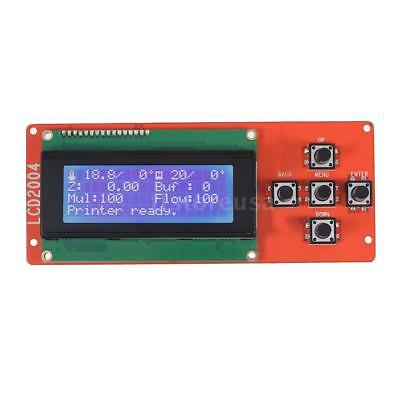 2004 LCD Smart Display Screen Controller Module with Cable for RAMPS 1.4 L9E7