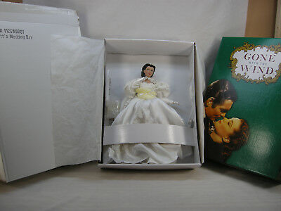 "Gwtw Tonner Scarlett O'hara Vivien Leigh Wedding Day Bride 16"" Dressed Doll Nrfb"