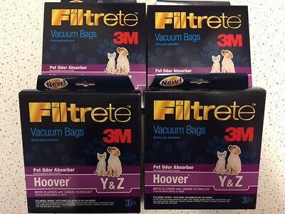 Hoover Y and Z Vacuum Bags for WINDTUNNEL choose how many you want