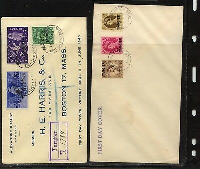 Great  Britain  Tangier    2   covers              MS1229