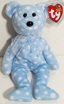 "GREAT GIFT! RETIRED MWMTs MUST HAVE TY Beanie Babies /""2001 SIGNATURE BEAR/"""