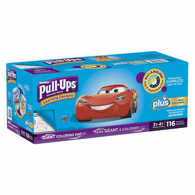 Huggies Pull-Ups Plus Training Pants Diapers for Boys Size 2T-3T, 3T-4T, 4T-5T