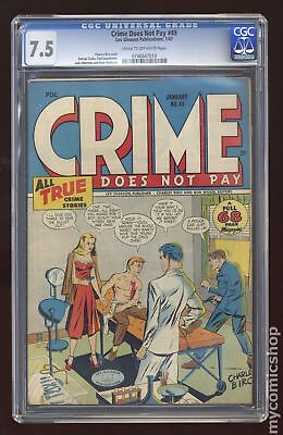 Crime Does Not Pay #49 1946 CGC 7.5 0746647010