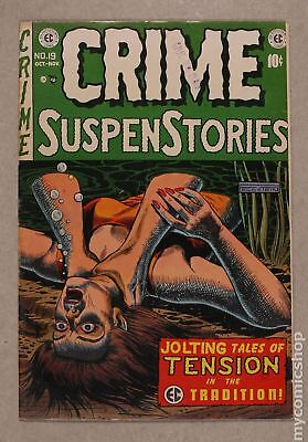 Crime Suspenstories (E.C. Comics) #19 1953 VG+ 4.5