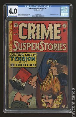 Crime Suspenstories (E.C. Comics) #22 1954 CGC 4.0 1228210007