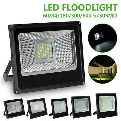 30/50/100/150/200W LED 5730SMD Lampe Floodlight Projecteur Extérieur Blanc IP65