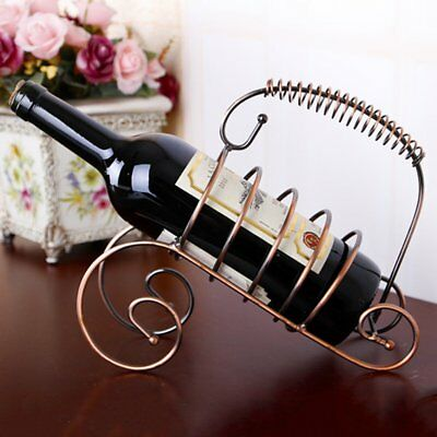 Modern Style Wine Bottle Holder Hanger Red Wine Rack Support Bracket New KC