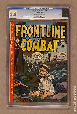 Frontline Combat #10 1953 CGC 8.0 White Mountain 0123839001