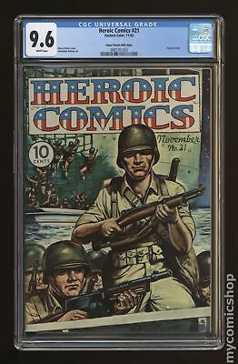 Heroic Comics #21 1943 CGC 9.6 Edgar Church (Mile High) 0065781003