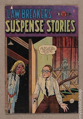 Lawbreakers Suspense Stories #12 1953 FR/GD 1.5