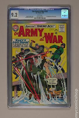 Our Army at War #153 1965 CGC 9.2 0973207010