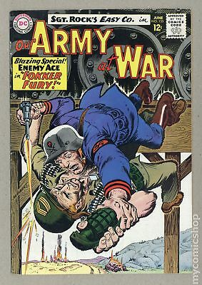 Our Army at War #155 1965 FN- 5.5