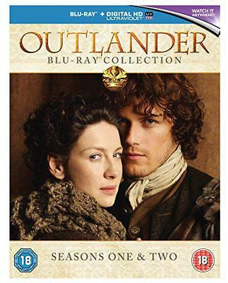 Outlander - Season 1 & 2 Box Set [Blu-ray] [2016] [Region Free], DVD, New, FREE