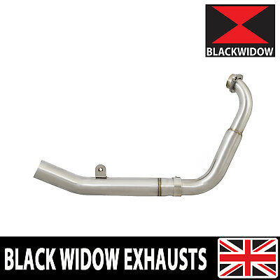 MT 125 2014-2019  Low Level Stainless Exhaust Downpipe Headers