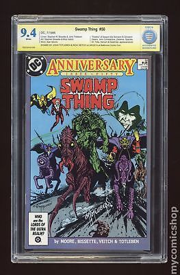 Swamp Thing (2nd Series) #50 1986 CBCS 9.4 SS