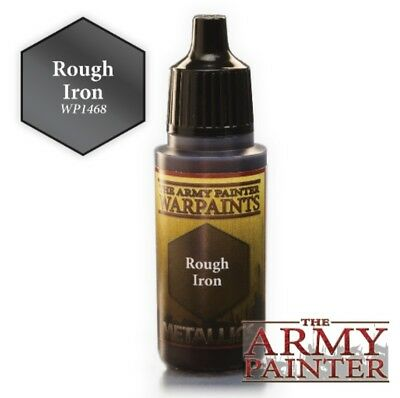 "Army painter paints ""Rough iron ""  paint 18ml"