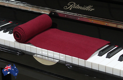 NEW Piano Key Cover Cloth Soft Dustproof Moisture-Proof Protective Cover