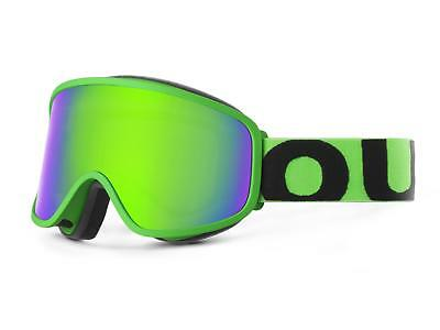 OUT OF mask FLAT FLUO GREEN green MCI skiing snowboard AI17