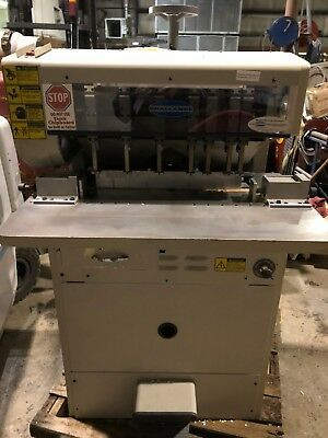 Used Challenge MS-10A Multi-Head Paper Drill