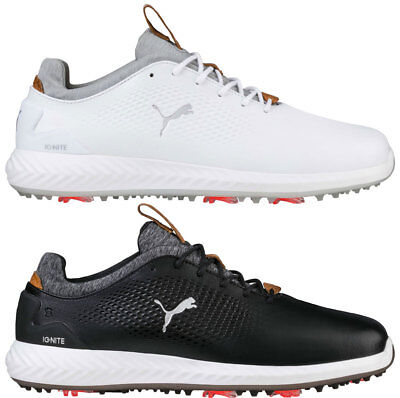 Puma Ignite PWRADAPT Leather Golf Shoes 190581 New 2018 - Choose Color & Size