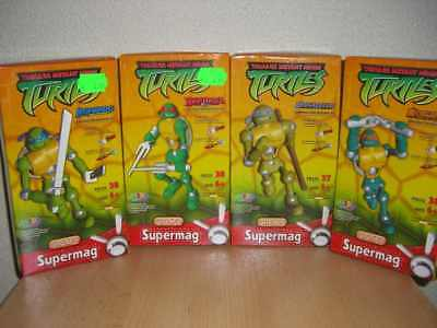 Supermag 4Turtles Raphael,Leonardo,Donatello,Michelange