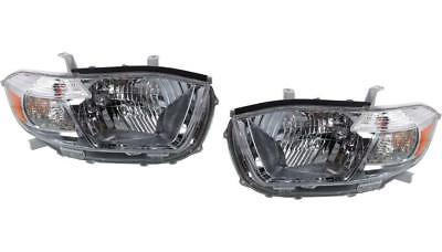 New Headlights Pair For The 2011 2012 2013 Toyota Highlander Left Right Nice