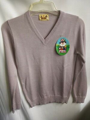 Pale Mauve Children's Sweater, Size 6